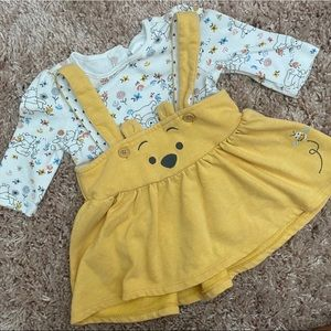 Disney Winnie the Pooh overall set